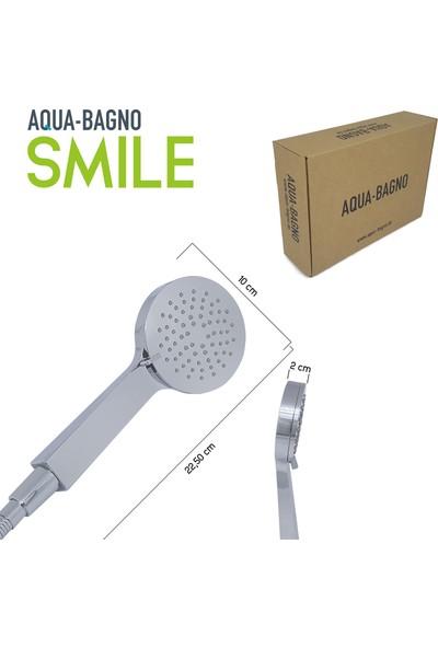 Aqua Bagno Smile El Duşu - Duş Başlığı 3 Fonksiyonlu