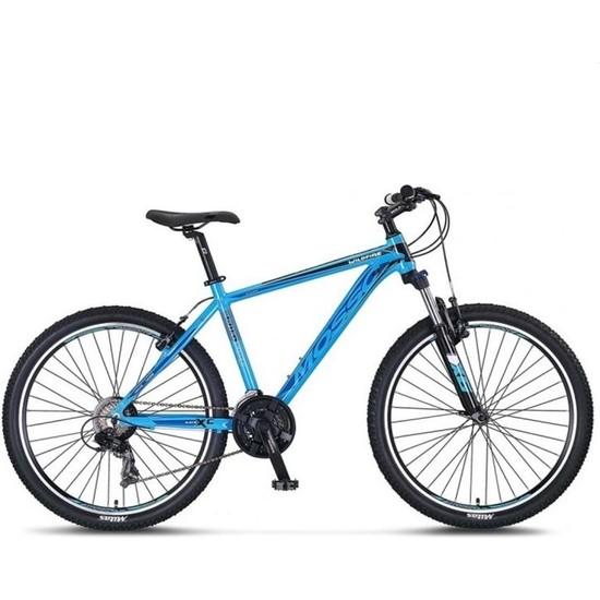 "Mosso Wildfire 24 Jant Vb 13"" 21V Dağ Bisikleti Mavi-Siyah"