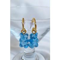 Bade Design Mavi Jelibon Haribo Ayıcık Küpe