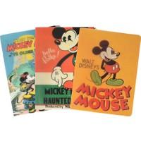 Mynote Mickey Mouse Campüs Boy A4 Kareli Okul Defteri 26 x 18,5 cm 3'lü