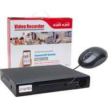 Powermaster Ahd/analog/tvı/cvı 1080N 8 Kanal Dvr/xxvr Kayıt Cihazı (Xmeye)