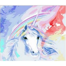 Art Liva Sayılarla Boyama Hobi Seti Tuvalli 40X50 cm Unicorn