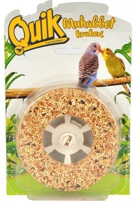 Quik Simit Şeklinde Muhabbet Kuşu Krakeri 120 Gram