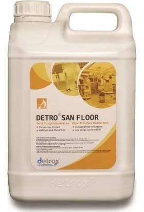 Detrox Detro San Floor Konsantre Yer ve Yüzey Dezenfektanı 5 Lt