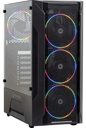 Game Garaj Leo 3TB-1050TI Intel Core I3 10100F 8gb 480GB SSD GTX1050TI Freedos Masaüstü Bilgisayar