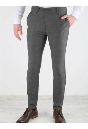Dj Plus 0214 Dj Plus Kareli Keten Pantolon