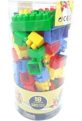 Asya Bımoda Sılındır LEGO Blocks BMT-103 120 Pcr