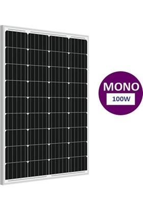 Lexron 100 Watt Monokristal Güneş Paneli Perc Solar Panel