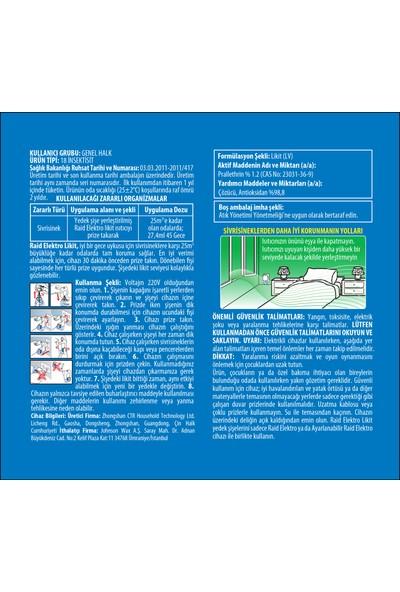 Raid Elektrolikit Sinek Kovucu 45 Gün Sistem