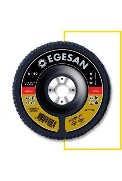 Egesan 115X22,23-80 Kum-Pro Serisi Ao Flap Diskler-1 Ad.