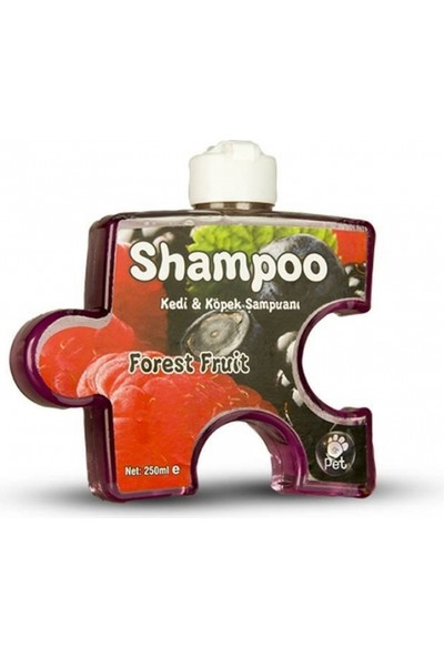 Pet Loves Pet Love Puzzle Kedi Köpek Şampuanı Orman Meyveli 250 ml