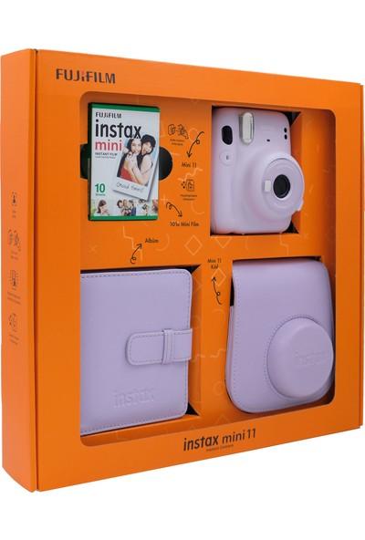 Instax Lila Mini 11 Renkli Özel Kutulu Set