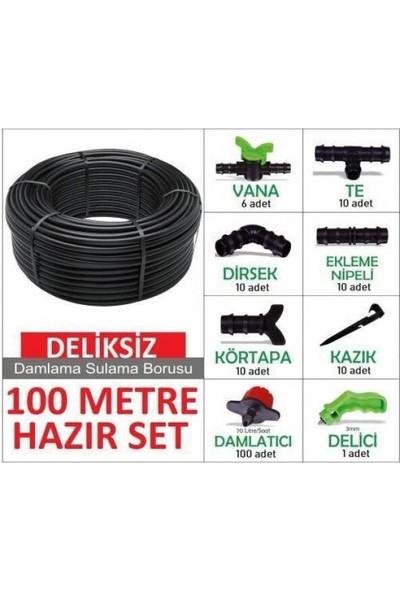 Emay Group Damlama Sulama Hortum Seti Deliksiz 100M