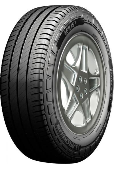 Michelin 195/75 R16C 107/105R Agilis 3 Hafif Ticari Yaz Lastiği ( Üretim Yılı: 2021)