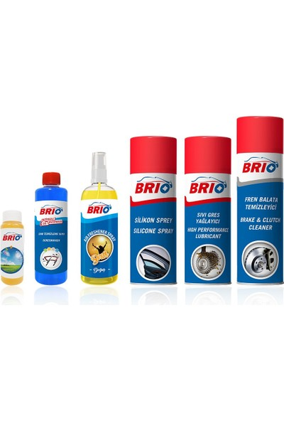 Brio Silikon Sprey Sıvı Gres Balata Sprey