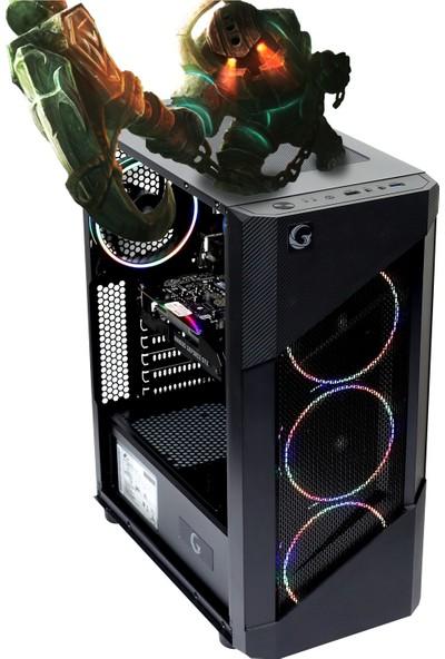 Game Garaj Pollux 3A-RX560 AMD Ryzen 3 1200 8GB 480GB SSD RX560 Freedos Masaüstü Bilgisayar