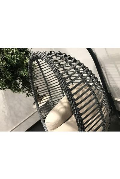 Nest Rattan Fındık Salıncak- Bahçe,balkon,teras Salıncağı