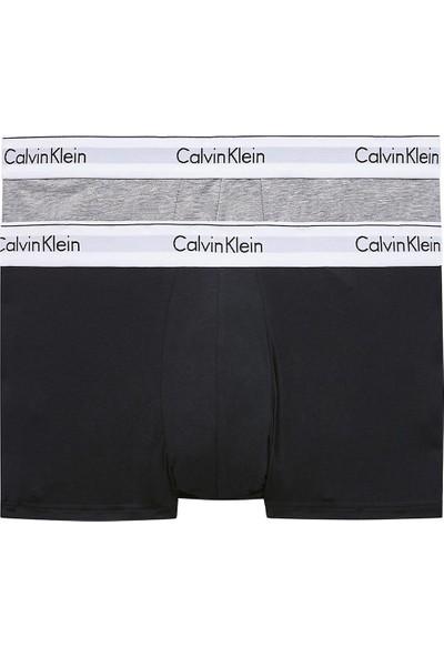 Calvin Klein Pamuklu 2 Pack Boxer Erkek Boxer 000NB1086A Bhy