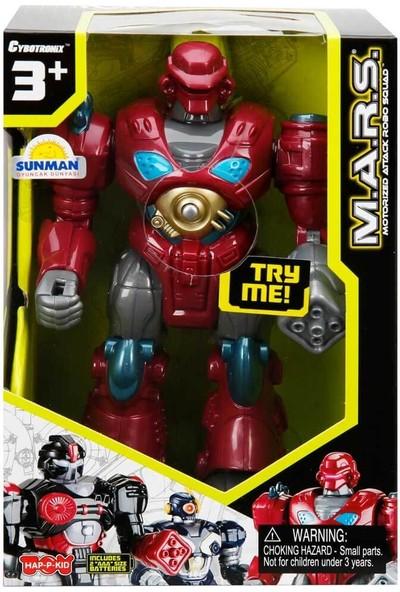 Happy Kids M.a.r.s. Işıklı Yürüyen Robot - Bordo