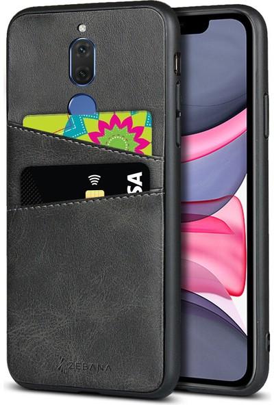 Zebana Huawei Mate 10 Lite Kılıf Zebana Swank Cepli Kılıf Siyah