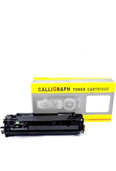 Calligraph Mavi CF543A/CRG054 Kırmızı Muadil Toner