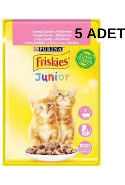 Friskies Tavuklu Yaş Yavru Kedi Maması 85GR x 5 Adet