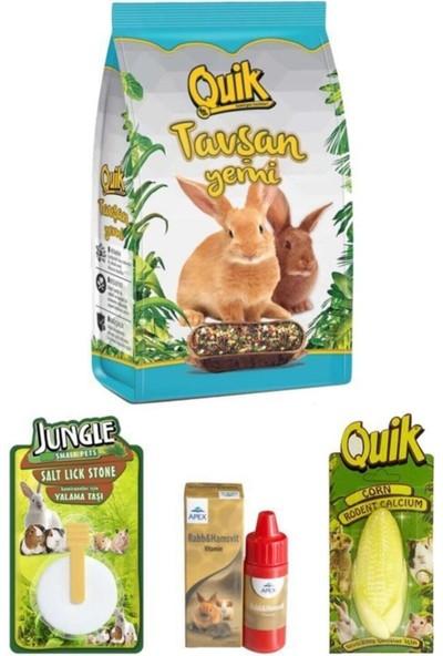 Tavşan Yem Vitamin ve Bakım Seti 750 gr