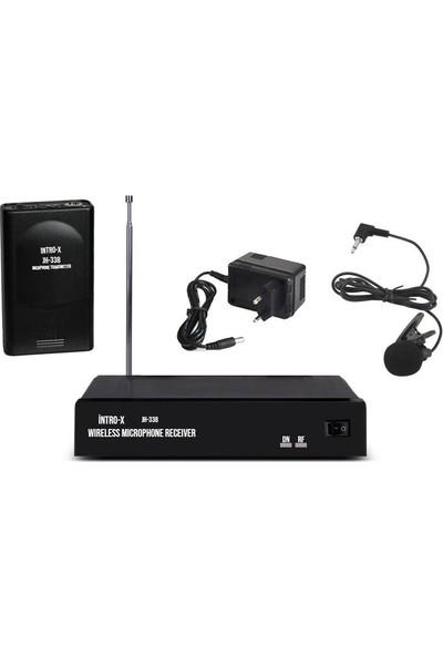 Intro-x JH-338 Vhf Tek Yaka Telsiz Mikrafon