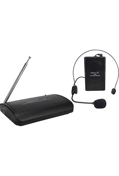 Intro-x X-99 Vhf Yaka-Kafa Telsiz Mikrofon