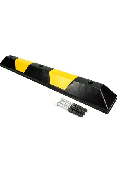 Ilgi Trafik Kauçuk Araç Durdurucu Stoper 1100X150X100 mm 10'lu