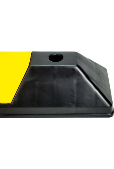 Ilgi Trafik Kauçuk Otopark Bariyeri Araç Stoperi 550X150X100 mm 1'li