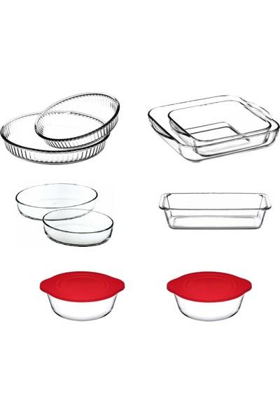 Paşabahçe Borcam Mutfak Seti 9 Parça Çeyiz Seti