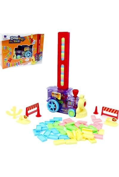 Happy Toys Torutoys Pilli Domino Yerleştiren Dizen Oyuncak Tren