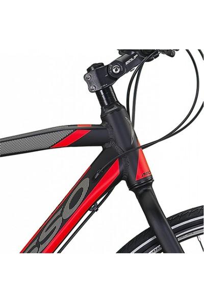 Mosso LEGARDA-2121-MDM-H Erkek Şehir Bisikleti 560H 28 Jant 21 Vites Siyah Kırmızı