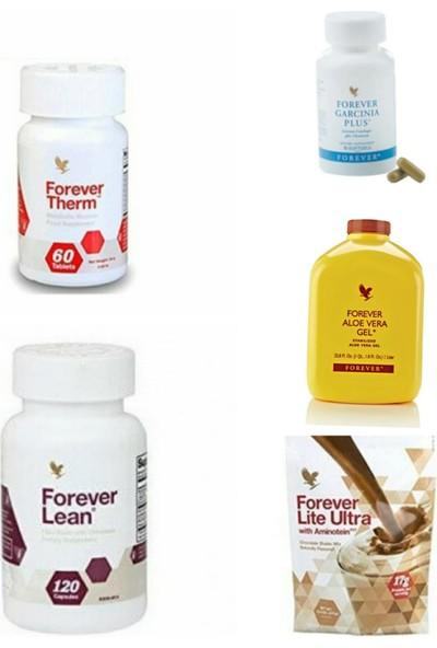 Forever Living Aloe Vera Gel+Forever Therm+Forever Lean+Forever Garcinia+