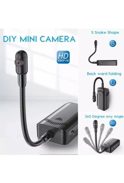 Sq11 4K Kablosuz Gece Görüşlü Gizli Mikrofonlu Kamera Çift Pil