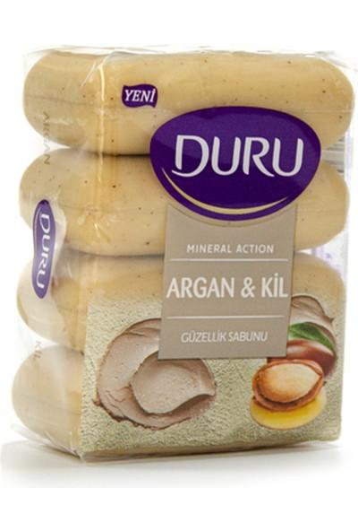 Duru Mineral Action Argan & Kil 4'lü Güzellik Sabunu 280 gr