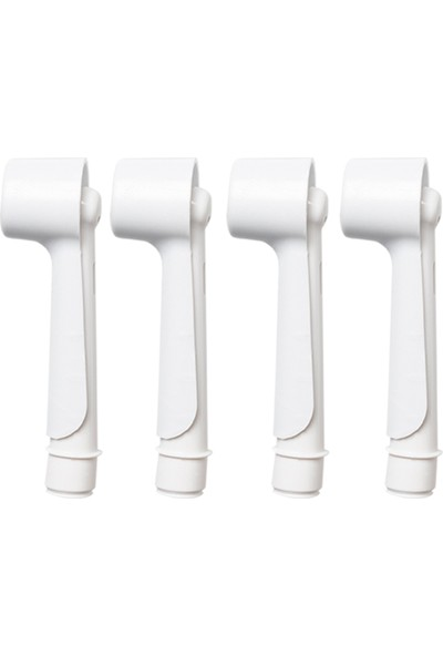 Oral-B Şarjlı ve Pilli Diş Fırçaları Için 4 Adet Beyaz Renk Koruyucu Kapak