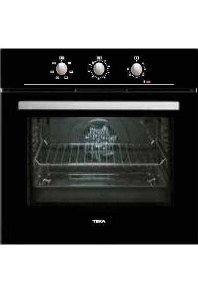 Teka Chef 3 Ankastre Set (He 715 Black Fırın + Hlx 60 4g Aı Al Bk Ocak + Dbt 60 Bk Davlumbaz)