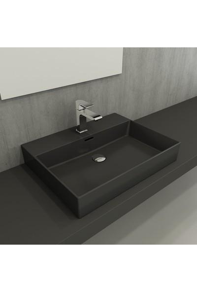 Bocchı Milano Lavabo 60 cm - Mat Antrasit
