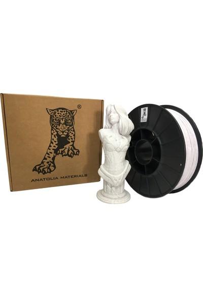 Anatolia Materials Vertigo Marble Filament 1.75MM Beyaz