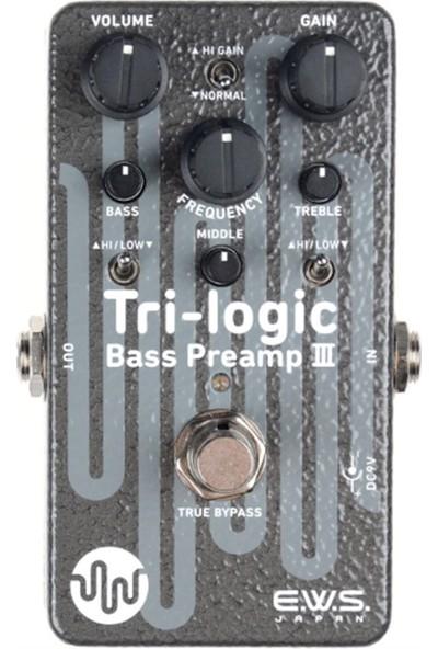 Xotic E.w.s. Tri-Logic Iıı Bass Preamp