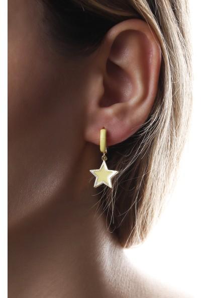 Sortie Accessories Yıldız Figürlü Sallantılı Küpe 008