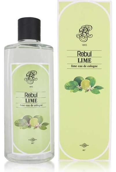 Rebul Lime Cam Şişe Limon Kolonyası 270 ml