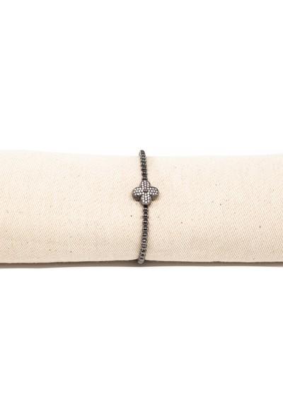 Lili Pırlanta Kadın 925 Ayar Gümüş Swarovski Taşlı Bileklik GMB00012-004