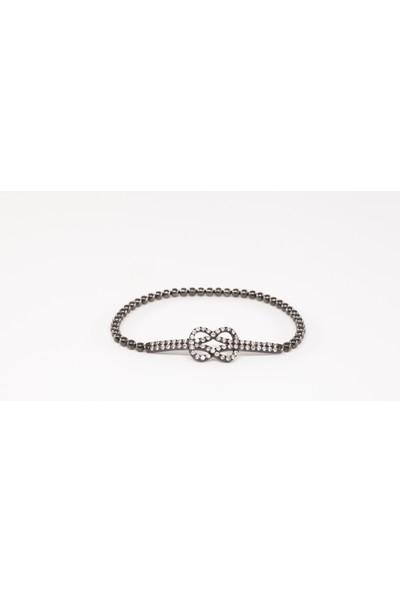 Lili Pırlanta Kadın 925 Ayar Gümüş Swarovski Taşlı Bileklik GMB00012-012