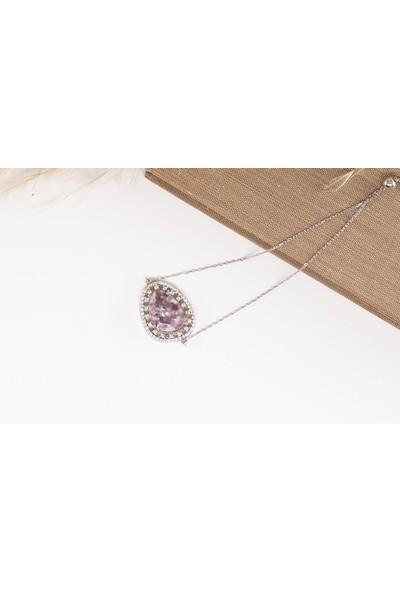 Lili Pırlanta Kadın 925 Ayar Gümüş Doğal Taşlı Bileklik GMB00012-048