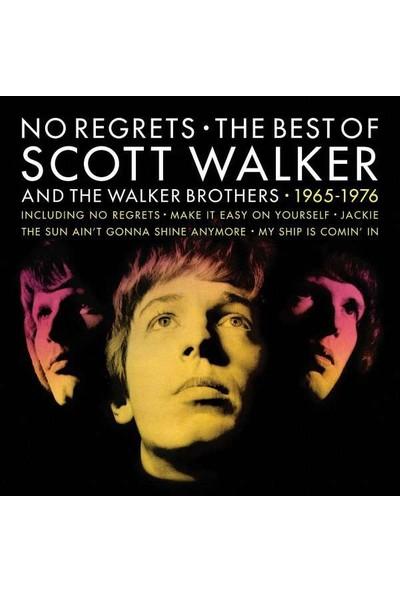 Scott Walker, Walker Brothers No Regrets: The Best Of Scott Walker And The Walker Brothers Plak