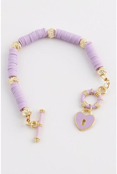 Sortie Accessories Kalp ve Dümen Figürlü Fimo Bileklik 001