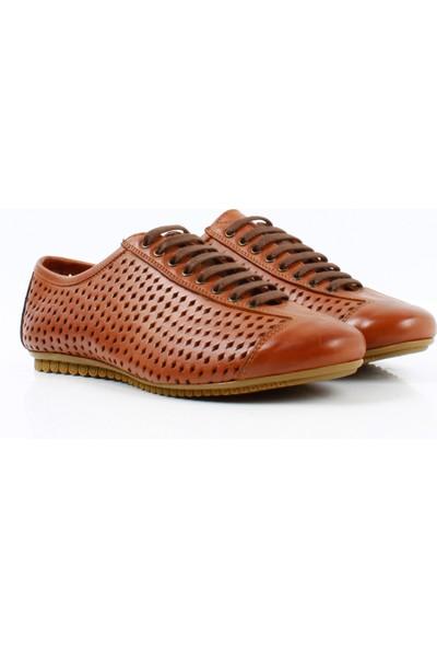 Bruno Shoes 903KA Erkek Gunluk Derı Kauçuk Taban Ayakkabı-Taba